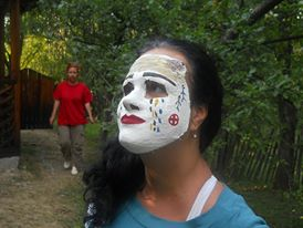 eu cu masca